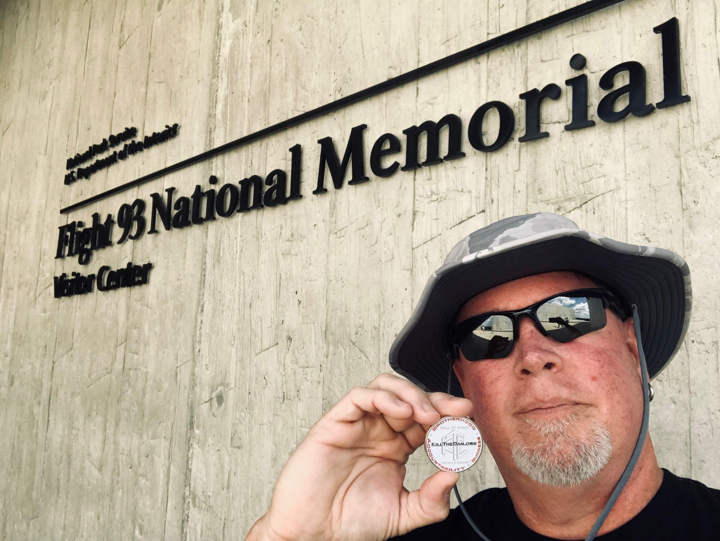 Photo of BBJ at the Flight 93 National Memorial