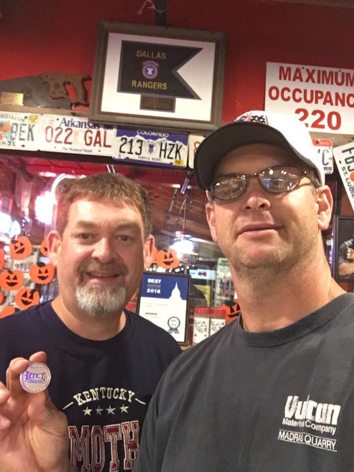 Photo of BrianG and Conecrusherman at Rudy's BBQ
