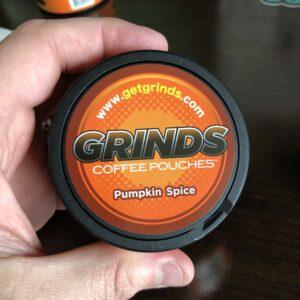 Grinds Pumpkin Spice Pouches Feature