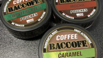 BaccOff Coffee Pouches