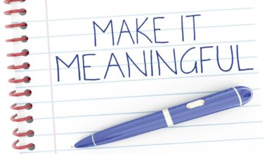 Make it Meaningful