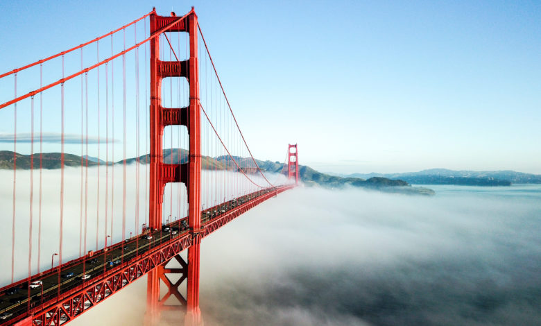 Fog - Golden Gate Bridge