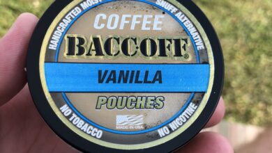 BaccOff Coffee Pouches - Vanilla 1