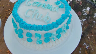 Photo of Comma Club Cake For TwinCitiesMN