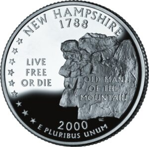 Live Free or Die - New Hampshire Quarter
